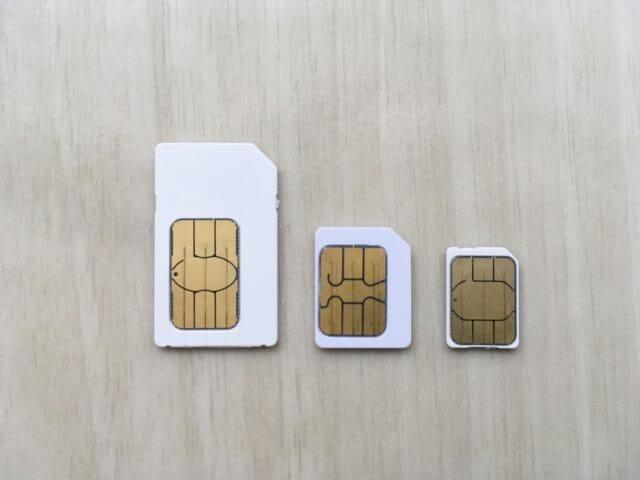 iphoneのsimカードは全サイズ対応